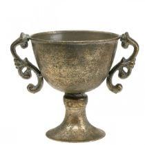 Metallpokal Kelch Antik