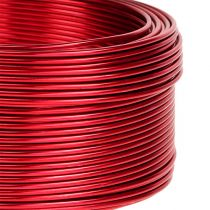 Aluminiumdraht Rot Ø2mm 500g 60m
