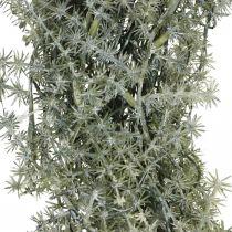 Dekokranz Asparagus künstlich Zierspargel Weiß, Grau Ø32cm