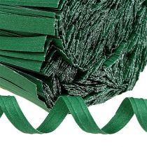 Bindestreifen lang Grün 30cm 2er-Draht 1000St