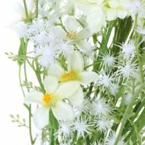 Blumenstrauß mit Astern Weiß 47cm
