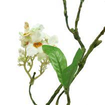 Blütenzweig Weiß L 65cm 1St