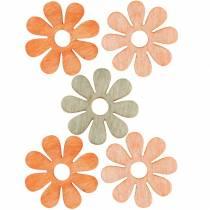 Blüten zum Streuen, Frühlingsdeko, Holzblumen, Streudeko Blumen 144St