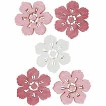 Streudeko Kirschblüten, Frühlingsblumen, Tischdeko, Holzblumen zum Streuen 144St