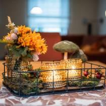 Chrysanthemenstrauß Mix Orange 35cm