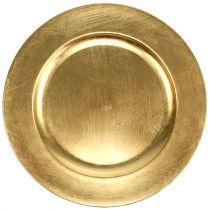 Deko-Teller Gold Ø28cm