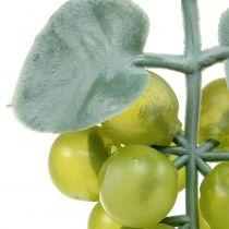 Deko-Weintrauben klein Grün 10cm