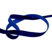 Dekobänder Velvet Blau 10mm 20m