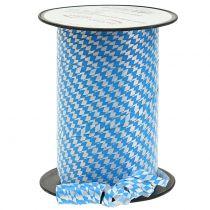 Dekoband Polyband Blau-Weiß 5mm 250m