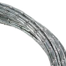 Diamant Aluminiumdraht Silber 2mm 10m