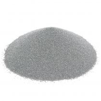 Farbsand 0,5mm Silber 2kg