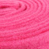 Filzband Pink 7,5cm 5m