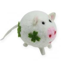 Glücksschwein Filz 7cm 3St