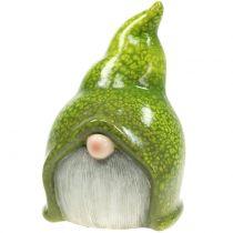 Gartenzwerg Wichtel Grün 20cm