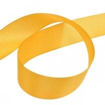 Geschenkband Dekorationsband Orange Seidenband 40mm 50m