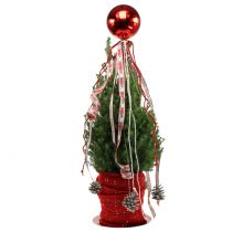 Weihnachtskugel Plastik Ø14cm Rot 1St