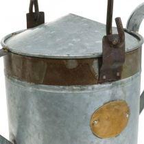 Deko Gießkanne Metall Pflanzkübel Retro Look Blumenampel 58×23×32cm