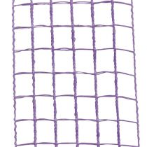 Gitterband 4,5cm x 10m Flieder