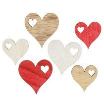 Herz Mix zum Streuen 3,5cm - 4,5cm 48St