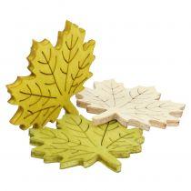 Ahornblätter zum Streuen Herbstfarben sortiert 4cm 72St