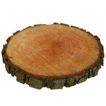Holzscheibe aus Erle Natur Ø20cm - 24cm