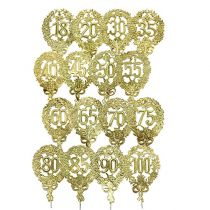 Jubiläumszahlen Gold