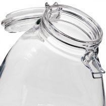 Keksglas groß klar 22cm