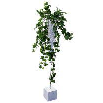 Korb-Tüte Weiß zum Stecken mit Fuß 40x12cm H95cm