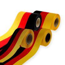 Kranzbänder Moiré schwarz-rot-gold