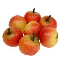 Künstliches Obst Äpfel Cox 3,5cm 24St