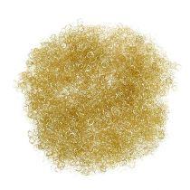 Lametta metallic gelockt gold 50g
