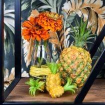 Mini-Ananas künstlich H6,5cm - 8cm 6St
