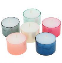 Colorlights Teelichter Pastell sortiert 40St