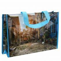 Einkaufstasche mit Henkeln Bretagne Kunststoff 45×14×30cm Shopper