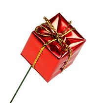Päckchen am Draht 2,5cm Rot 60St