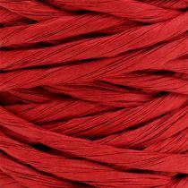 Papierkordel 6mm 23m Rot
