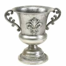 Pokal Schale silber Antik Ø20cm H24cm