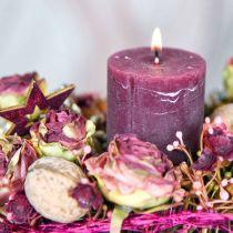 Rosen Antik-Rosa, Seidenblumen, künstliche Blumen L23cm 8St