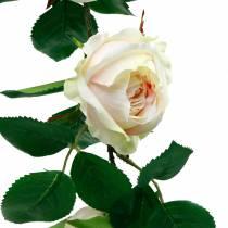 Romantische Rosen-Girlande, Seidenblume, künstliche Rosenranke 160cm
