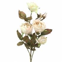 Rosenzweig künstlich Cremeweiß 76cm