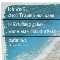 """Schild zum Aufhängen """"Träume"""" 30cm x 20cm"""