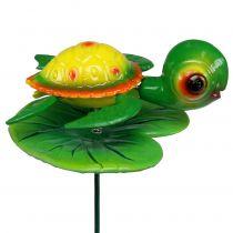 Schildkröte als Gartenstecker 66cm