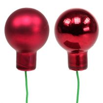 Spiegelbeeren 20mm Rot 140St