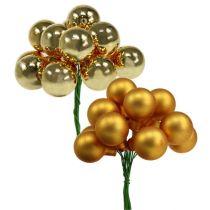 Spiegelbeeren Gold Mix 25mm 140St