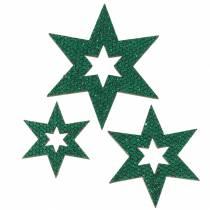 Streudeko Stern Grün 3-5cm 48St