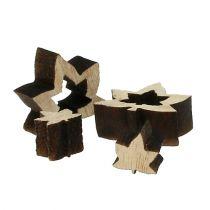 Streudeko Holzblätter 1cm - 2cm Natur 192St