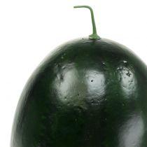 Wassermelone künstlich Grün 30cm