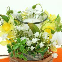 Kerzenhalter für Teelicht Ø6cm H10cm Glas klar