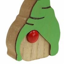 Wichtel Holz 6,5x9cm 10St sortiert