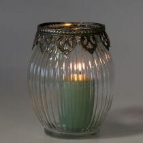 Windlicht Vintage Ø11cm H14cm